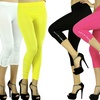 5-Pack of Rhinestone-Accented Capri Leggings
