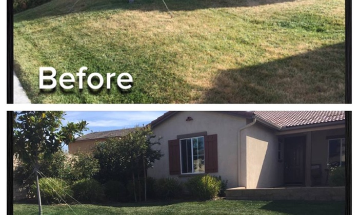 Green With Envy Lawn Painting - Inland Empire: Up to 45% Off Lawn and Garden Care at Green With Envy Lawn Painting