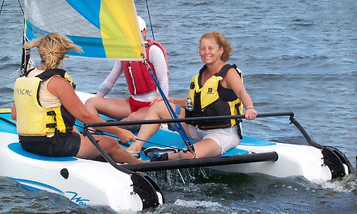 Lisa's Kayaks - South Beach: One- or Two-Hour Rental of a Hobie Wave Catamaran from Lisa Kayak's (Up to 59% Off)