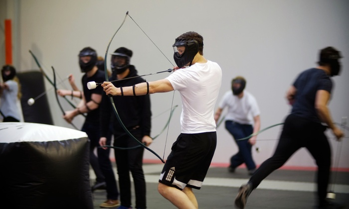 The Archery Game - Vaughan: Game of Archery Tag for Up to 4 or 10 at The Archery Game (Up to 51% Off)