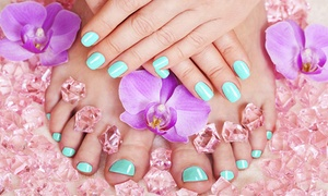 Transformations Spa at Salon FX: Deluxe Mani-Pedis at Transformations Spa at Salon FX (Up to 45% Off). Two Options Available.
