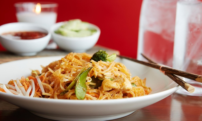 D Thai Restaurant - Lyons: One Appetizer  with Purchase of Two Entrees (Of Any Kind) at D Thai Restaurant