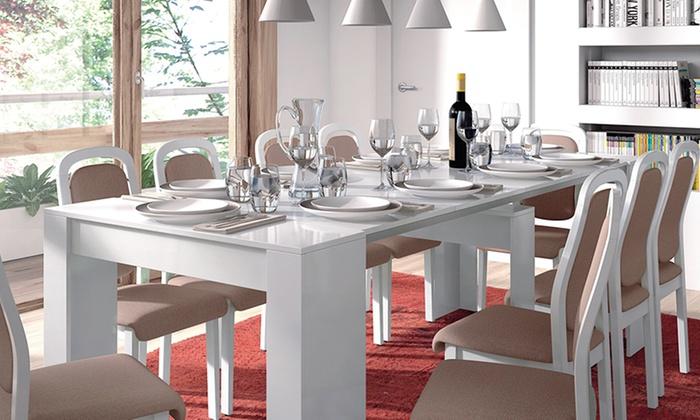 13CASA Tavolo Allungabile Granada A1 Bianco | Prezzi e