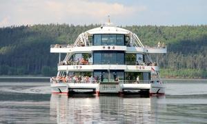 Erlebnisschifffahrt Brombachsee: Erlebnisschifffahrt über den Brombachsee für Zwei oder Vier bei Erlebnisschifffahrt Brombachsee (bis zu 39% sparen*)