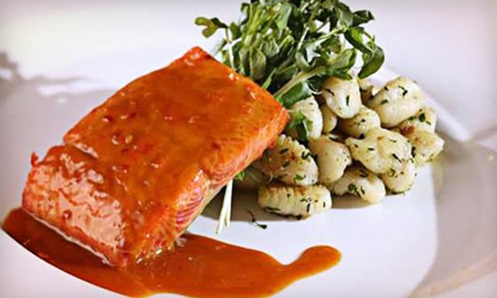 Tivoli's Restaurant - Executive Suites Hotel, Burnaby: Upscale Cuisine at Tivoli's Restaurant (Half Off). Two Options Available.