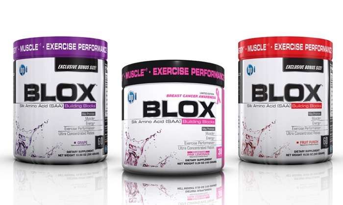 BPI Blox Silk Amino-Acid Dietary Supplement: BPI Blox Silk Amino-Acid Dietary Supplement. Multiple Flavors Available from $24.99–$36.99.