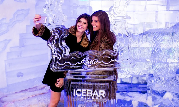 Icebar - Southwest Orange: Admission for One or Two to Arctic-Themed-Bar Entry with Drink and Appetizers at Icebar (Up to 43% Off)