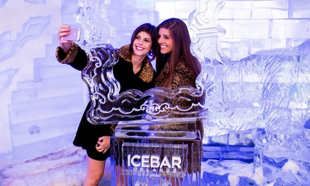 Admission for One or Two to Arctic-Themed-Bar Entry with Drink and Appetizers at Icebar (Up to 43% Off)