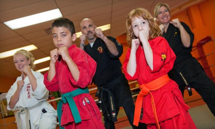 Therien Jiu-jitsu & Kickboxing - Ledbury - Heron Gate - Ridgemont - Elmwood: 10 Jiu-Jitsu Classes or Four Weeks of Antibullying Instruction at Therien Jiu-jitsu & Kickboxing (Up to 91% Off)
