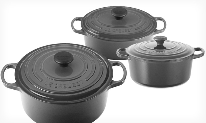 Le Creuset Enameled Cast Iron French Ovens: Le Creuset Enameled Cast Iron French Ovens (Up to 39% Off). 3 Sizes Available. Free Shipping and Returns.