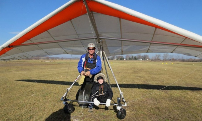Wisconsin Hang Gliding - Whitewater: $149 for a Tandem Hang-Gliding Flight at Wisconsin Hang Gliding ($259 Value)
