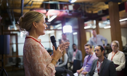 """e-Curso de """"Oratoria eficaz – Aprende a hablar en público"""" para 1 persona por 5,95 € en Corporación Informática"""