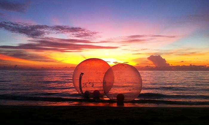 Hollywood Beach Bubble - Hollywood Beach Bubble: $19 Aquatic Bubble Session for Two at Hollywood Beach Bubble($40 Value)