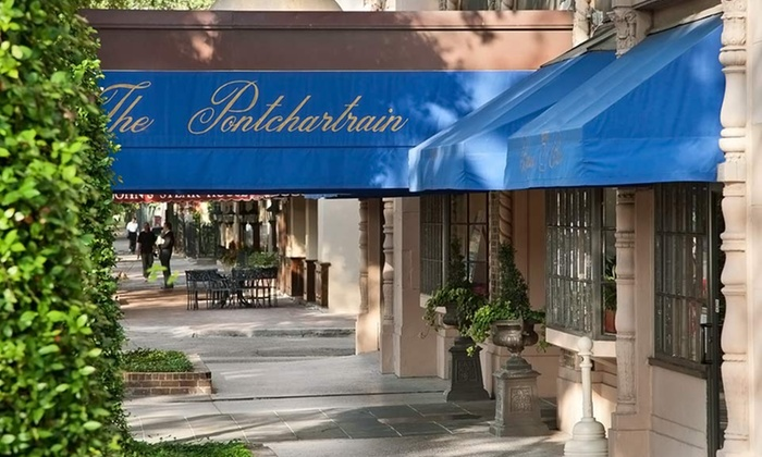 The Pontchartrain Hotel - New Orleans: Stay with Parking and Optional Dining Credit at The Pontchartrain Hotel in New Orleans. Dates Available into September.