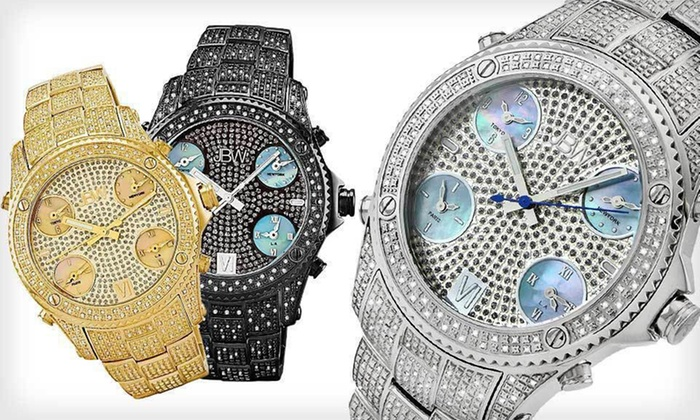 Men's and Women's JBW Diamond Watches: Men's and Women's JBW Watches (Up to 94% Off). 17 Styles Available. Free Returns.