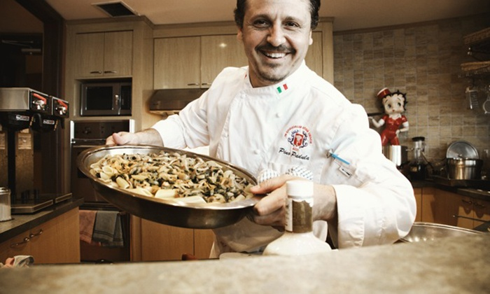 The Chef on 2 Wheels - Vaughan: C$99 for an In-Home Five-Course Meal and Cooking Demo for Two from The Chef on 2 Wheels (C$410 Value)