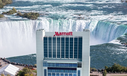 Stay with Dining Credit at Niagara Falls Marriott on the Falls, ON