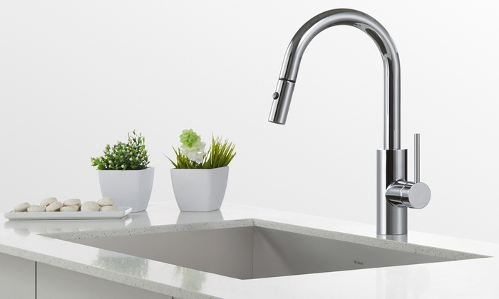 Exceptionnel Kraus Mateo DIY Kitchen Faucets   Groupon Goods