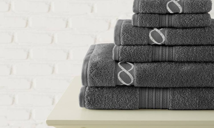 700 GSM Embroidered Egyptian Cotton Towel Set: $32.99 for 700 GSM Egyptian Cotton Towel Set ($200 List Price). 8 Colors Available. Free Shipping and Returns.