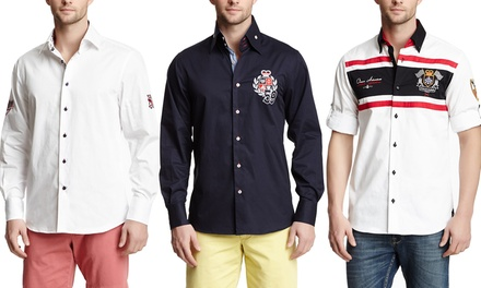 Dolce Guava Men's Embroidered Shirts