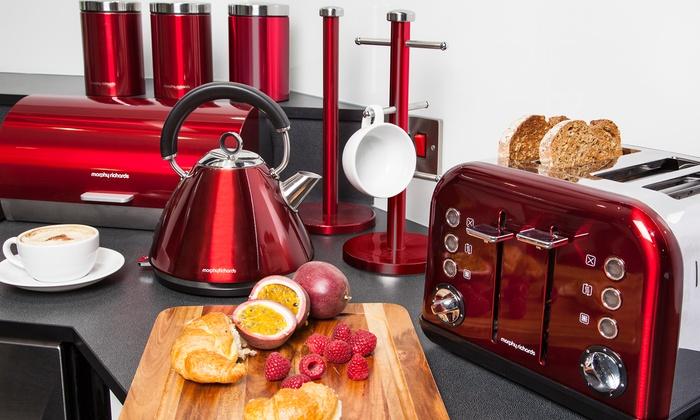 Morphy richards 8 pcs kitchen set groupon goods for Kitchen set groupon