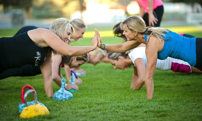 Kaia FIT - Multiple Locations: $39 for Five-Week Women's Fitness Session at Kaia FIT ($149 Value)