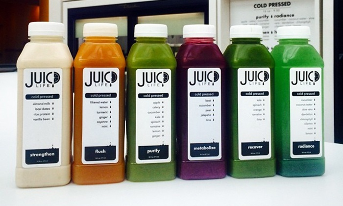 Juicd Life -  Biltmore Fashion Park: Cold Pressed Juices or Three-Day Juice Cleanse at Juicd Life (Up to 30% Off)