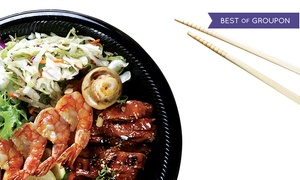 San Sai Japanese Grill: Japanese Cuisine for Two or Four or More at SanSai Japanese Grill (40% Off)