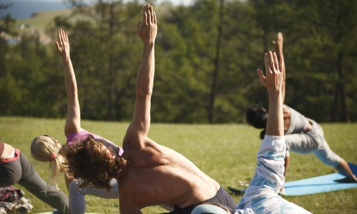 We Run This Fitness - Deborah  Riley - Lake Merritt: Up to 63% Off Yoga and Fitness Classes at We Run This Fitness - Deborah  Riley