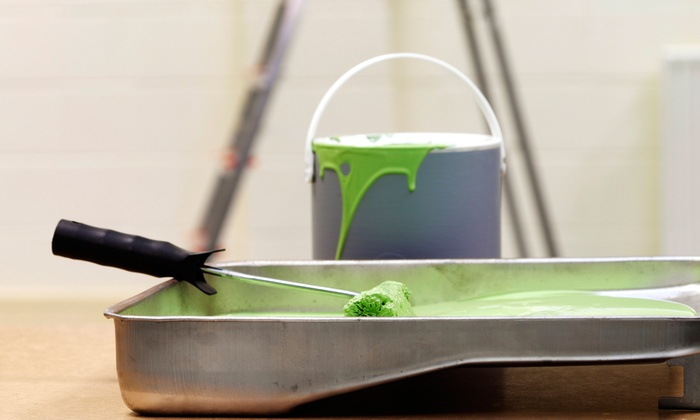 Cover In Paint - Fort Lauderdale: Two Coats of Interior Painting for One or Two Rooms Up to 12'x12'x9' Each from Cover In Paint (Up to 63% Off)