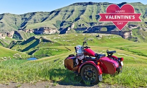 Ural Sidecar Tours: Five-Hour Sidecar Tour with Sunset Picnic for Two for R1 699 with Ural Sidecar Tours