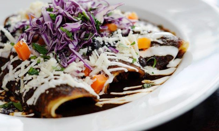 Maria Maria La Cantina - Multiple Locations: $59 for Two Gift Cards, Each Good for $50 of Mexican Cuisine at Maria Maria La Cantina ($100 Total Value)