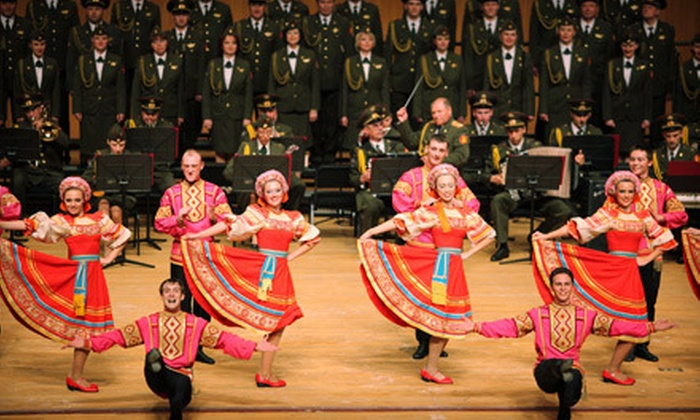 Red Star Red Army Chorus and Dance Ensemble - New Brunswick: One Ticket to See Red Star Red Army Chorus and Dance Ensemble at State Theatre on March 30 (Up to 67% Off)