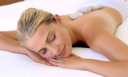 60-Minute Relaxation Massage with Optional Hot Stones and Mani-Pedi at Healing Arts & Well-Being (Up to 54%)