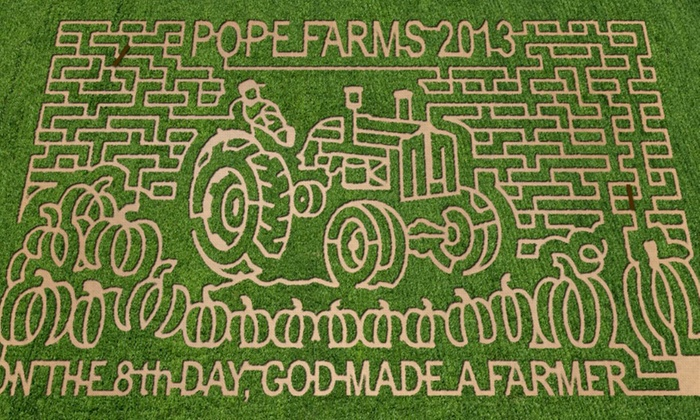 Pope Farms - Wiggins: Pumpkin-Patch Visit for Two, Four, or Six at Pope Farms (Up to 53% Off)