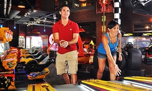 GameTime: $19 for a Two-Hour Unlimited Video Game Card and 60 Credits at GameTime ($45 Value)