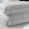 Cool Gel Memory Foam Cluster Pillows with Comfort Cushion Cover