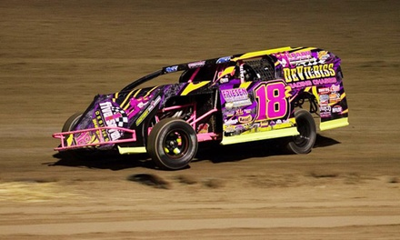 General Admission to Car-Racing Show for Two, Four, or Six at Aztec Speedway (Up to 50% Off)