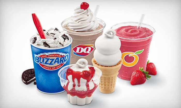 Dairy Queen - West Grand: Seven-Treat Punch Card or $20 Worth of Soft Serve at Dairy Queen (Up to Half Off)