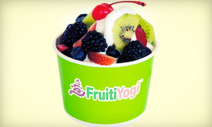 FruitiYogi - Valley Ranch: $15 for Three Groupons, Each Good for $10 Worth of Frozen Yogurt at FruitiYogi ($30 Total Value)