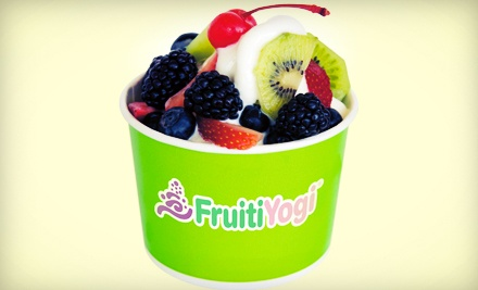 $15 for Three Groupons, Each Good for $10 Worth of Frozen Yogurt at FruitiYogi ($30 Total Value)