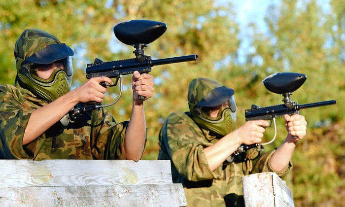 Chesapeake Sports Park and Bethel Battlefield - Multiple Locations: All-Day Paintball Outing or Private Paintball Party for Up to 10 at Chesapeake Sports Park (Up to 47% Off)