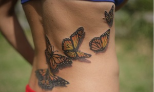 Allegory: Tattoo Work for One or Two Hours at Allegory Tattoo (Up to 43% Off)