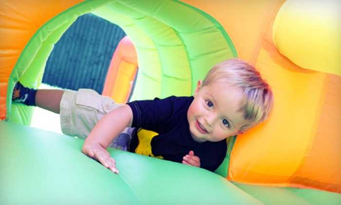 Orb Family Fun Center - Chesapeake: $15 for an Indoor Play Package with Popcorn and Juice Boxes for Four at Orb Family Fun Center ($39 Value)