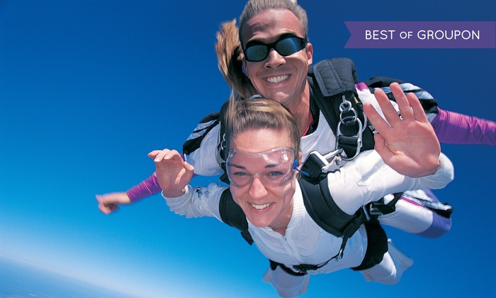 Skydive Holister - Skydive Holister: Tandem Skydive from 8,000 Feet for One or Two from Skydive Hollister (Up to 44% Off)