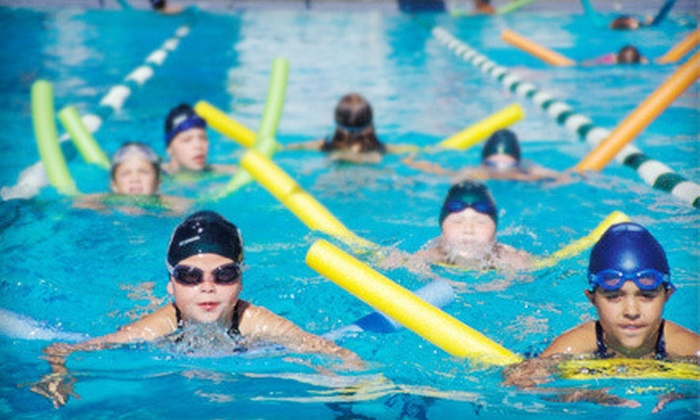 Cascade Swim Club - Calgary: One Week of Full- or Half-Day Swimming Camp for Kids Aged 5–9 at Cascade Swim Club (Up to 51% Off)
