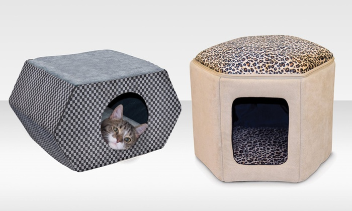 K&H Kitty House: $39.99 for a K&H Kitty Hideout or Kitty Sleephouse ($49.99 List Price). Free Shipping and Returns.