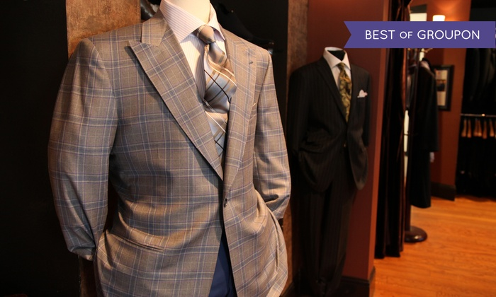 Lombardo Custom Apparel - Far North Dallas: Two Custom-Made Shirts or One Two-Piece Suit at Lombardo Custom Apparel (50% Off)