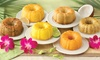 Dockside Market: Mini Tropical Bundt Cake Sampler (6-Pack of 4 Oz. Cakes)
