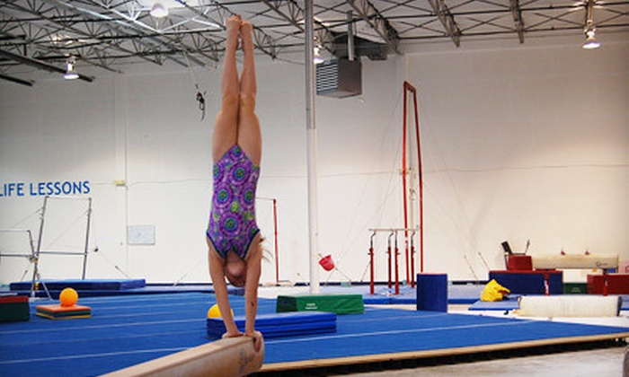 Texas Champion Gymnastics - Plano: Winter Camp or a New Year's Eve Lock-In at Texas Champion Gymnastics (Up to 61% Off). Five Options Available.